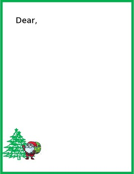 Free Christmas Letter Templates from ecdn.teacherspayteachers.com