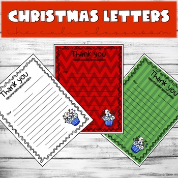 Christmas Letter Templates