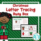 Christmas Letter Tracing Busy Box