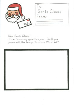Christmas Letter Writing - Dear Santa Claus