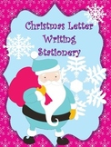 Christmas Letter Writing Templates