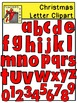 Christmas Letter and Number Clipart