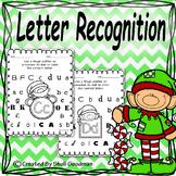 Christmas Letter recognition - bingo dab activity - ABC'S