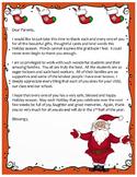 Christmas Letter to Parents-Bilingual!!