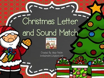 Christmas Letter and Sound Match