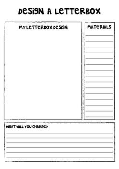 Christmas Letterbox Design