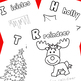 Christmas Letters A-Z (Color and Trace) Coloring Book