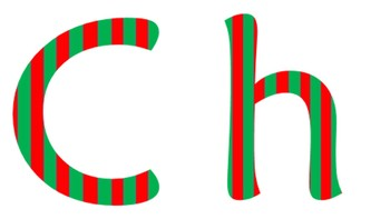 Christmas Letters Clipart