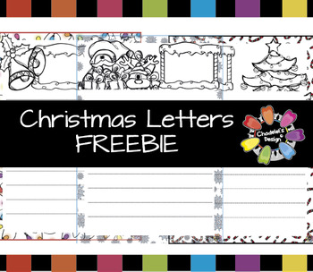 Christmas Letters FREEBIE