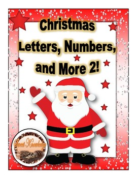 Christmas Letters, Numbers, and More 2!