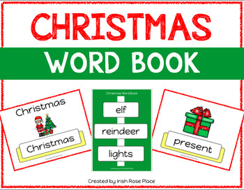 Christmas Leveled Word Books (Adapted Books)