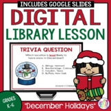 Christmas Library Lesson -- Around the World