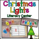 Christmas Light Bulb Letters: ABC Order & Sight Word Center