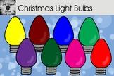 Christmas Light Bulbs Clip Art