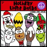 Christmas Light Bulbs Clipart