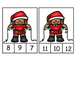 Christmas Light Counting to 10