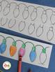 Christmas Patterning Activity:  Holiday Light Patterns