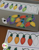 Christmas Activities | Christmas and Holiday Lights Patterning Activity