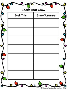 Christmas Lights Book Review Project