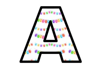 Christmas Lights, Bulletin Board Letters, Classroom Decor, Diwali Lights, India