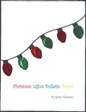 Christmas Lights Bulletin Board