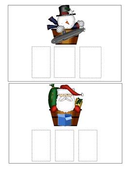 Christmas Lights CVC Words