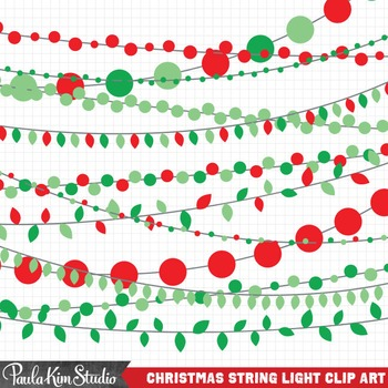 Christmas Clipart Lights