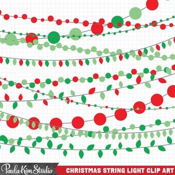 Christmas Clipart Lights