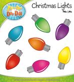Christmas Lights Clipart {Zip-A-Dee-Doo-Dah Designs}