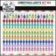 Christmas Lights: Clipart Set #3