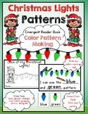 Christmas Lights: Color Pattern Making Emergent Reader Book