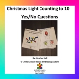Christmas Lights Counting to Ten Yes/No Questions