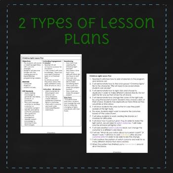 December Scratch Lesson Plan - Christmas Lights