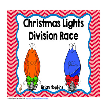Christmas Lights Division Race