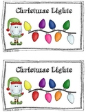Christmas Lights Emergent Reader