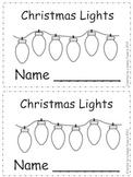 Christmas Lights: Emergent Reader for Kindergarten