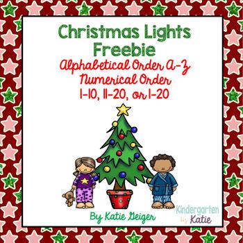 Christmas Lights Freebie