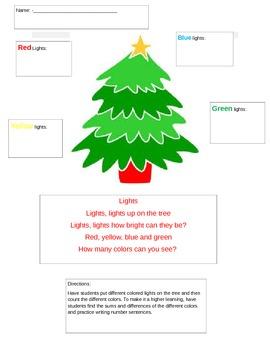 Christmas Lights Math