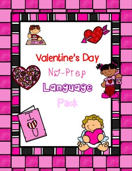 Valentine No-Prep Language Pack
