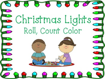 Christmas Lights Roll, Count, Color