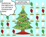 Christmas Lights SMART Board Attendance Activity w/ Animat