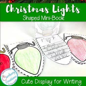 Mini-Book : Christmas Lights Shaped