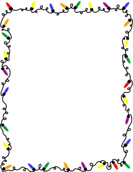 Download Christmas Lights Border