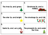Christmas Linking Verb Scoot (Is, Are)