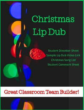 Christmas Lip Dub - Classroom Team Builder