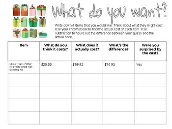 Christmas List Money Gist!