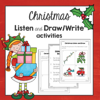 Christmas: Listen and Draw activities.