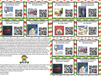 Christmas Listening Center With QR Codes (28 books)