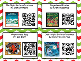 Christmas Listening Center with QR Codes Freebie (4 books)