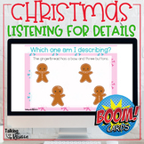 Christmas Listening for Details for Speech Therapy